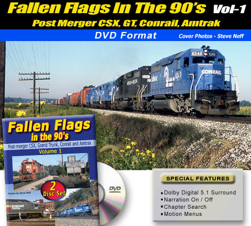 DVD-Fallen Flags In The 90s-Vol1 - Welcome to Green Frog Productions